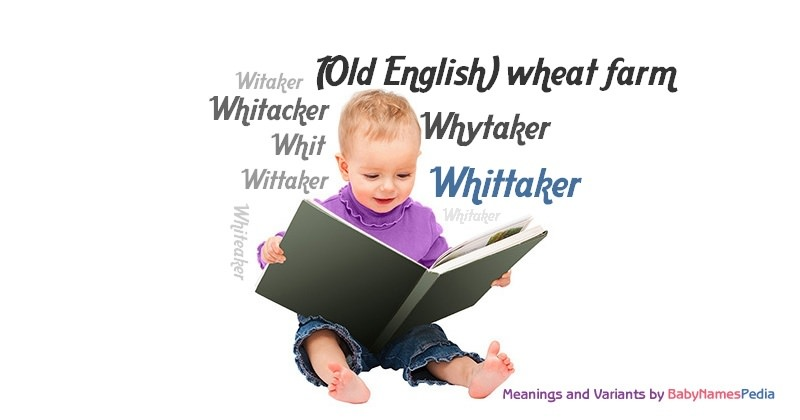 Meaning of the name Whittaker