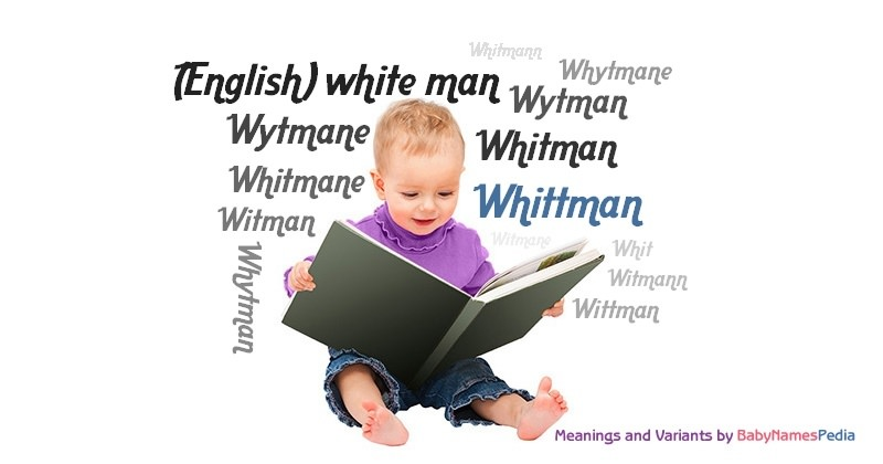 Meaning of the name Whittman