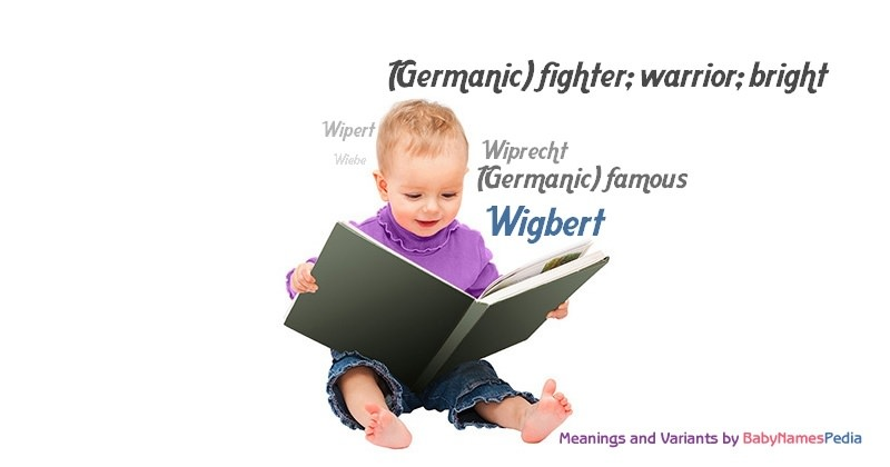 Meaning of the name Wigbert