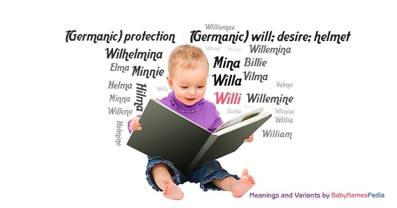 Meaning of the name Willi