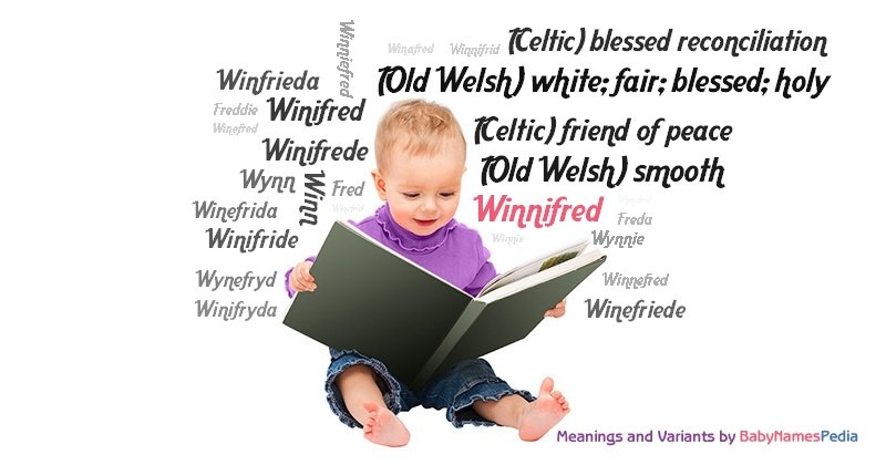 Meaning of the name Winnifred