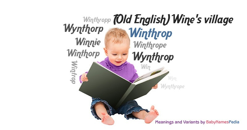 Meaning of the name Winthrop