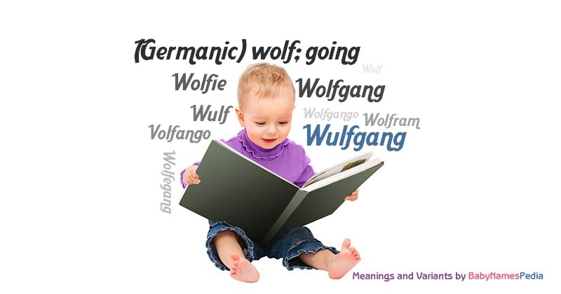 Meaning of the name Wulfgang