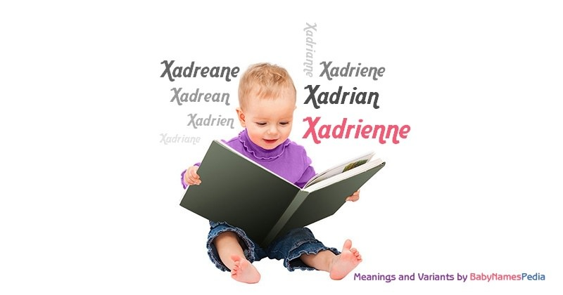 Meaning of the name Xadrienne