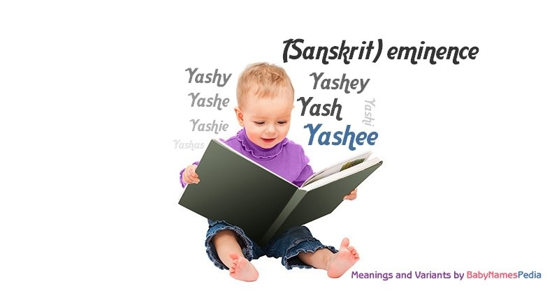Meaning of the name Yashee