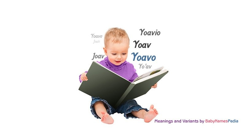 Meaning of the name Yoavo
