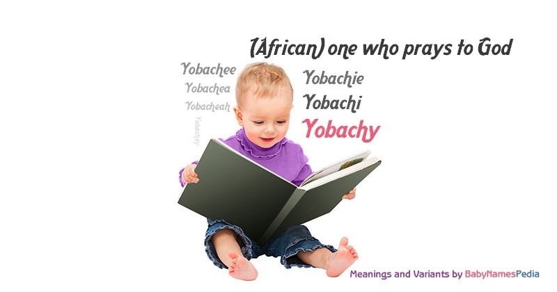 Meaning of the name Yobachy