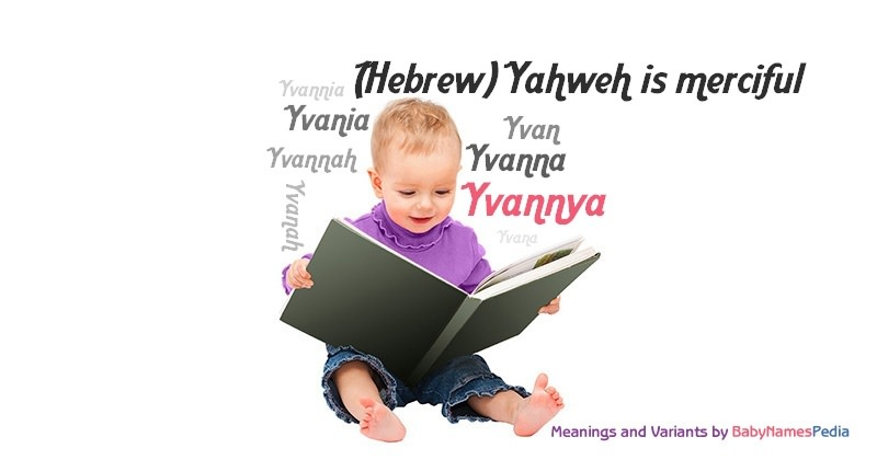 Meaning of the name Yvannya