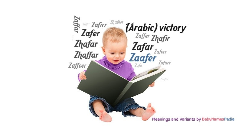 Meaning of the name Zaafer
