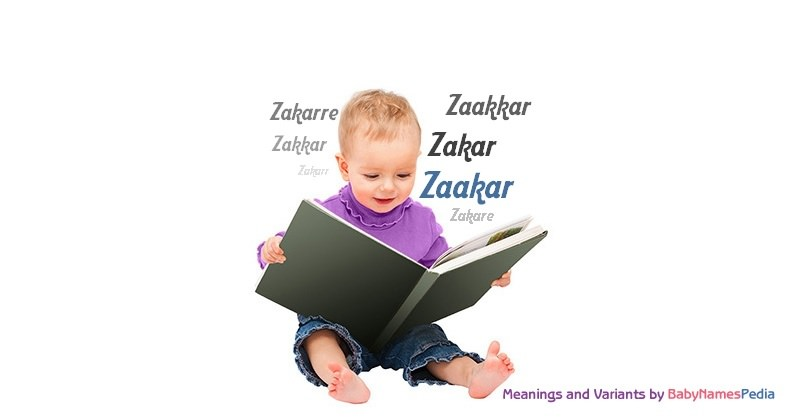 Meaning of the name Zaakar