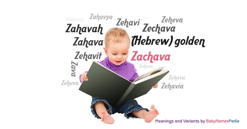 Meaning of the name Zachava