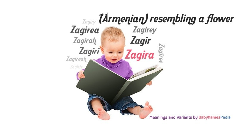 Meaning of the name Zagira