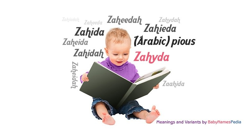 Meaning of the name Zahyda