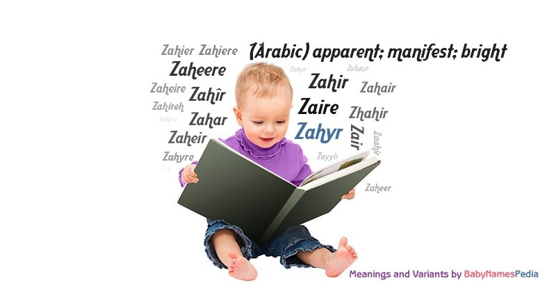 Meaning of the name Zahyr