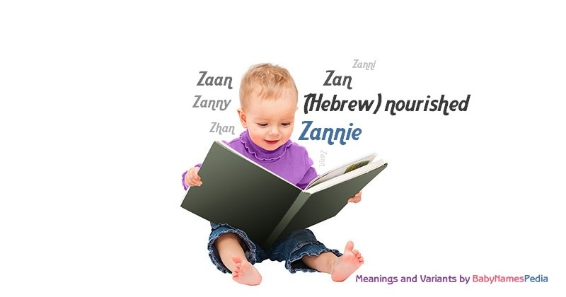 Meaning of the name Zannie