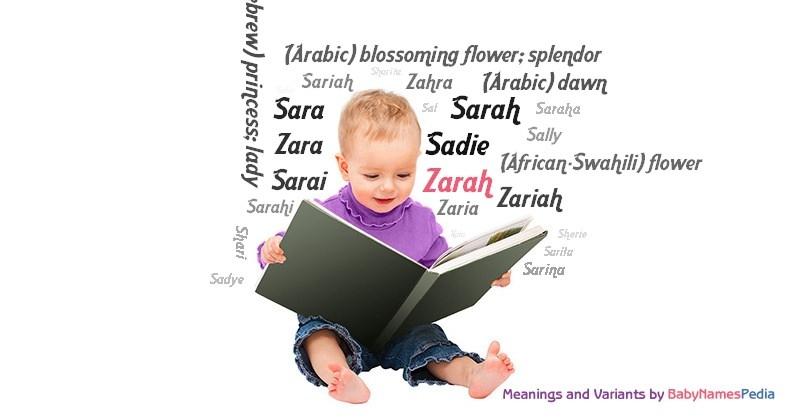 Zarah - Meaning of Zarah, What does Zarah mean?