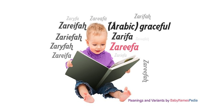 Meaning of the name Zareefa