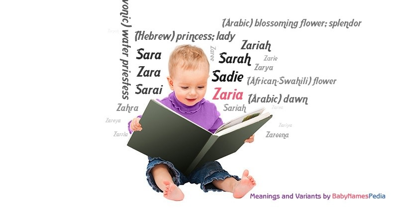 Meaning of the name Zaria