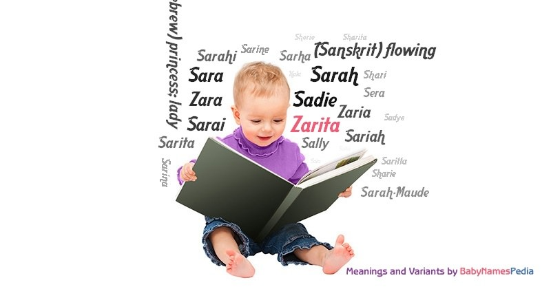 Meaning of the name Zarita
