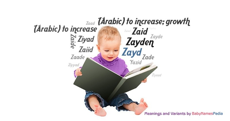 Meaning of the name Zayd