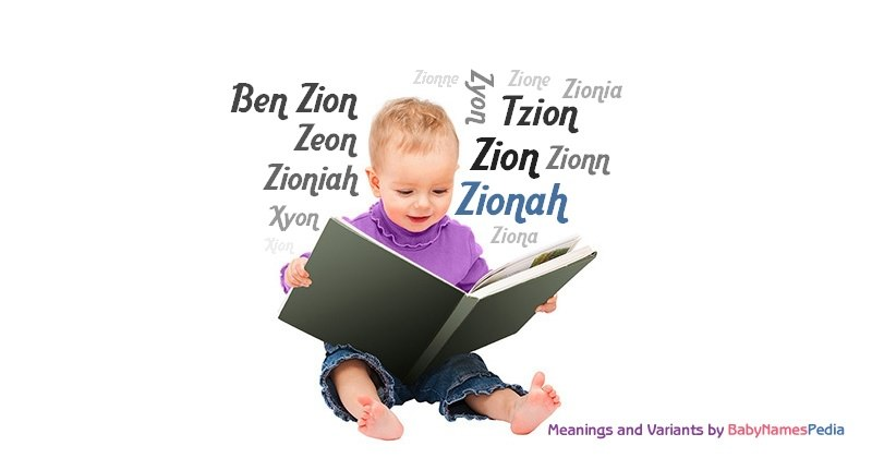 Meaning of the name Zionah