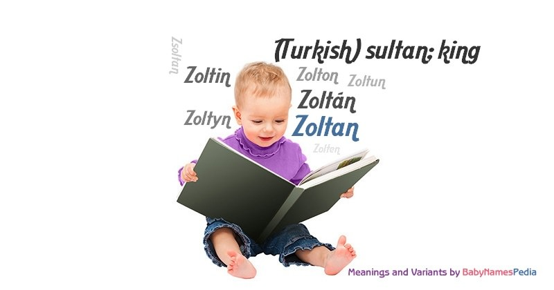 Meaning of the name Zoltan