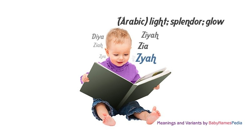 Meaning of the name Zyah
