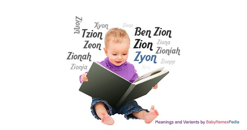 Meaning of the name Zyon