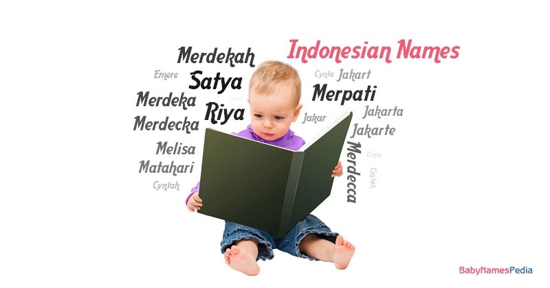 Indonesian Names for Girls at Baby Names Pedia
